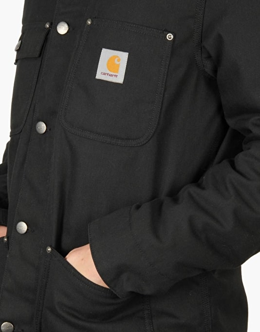 Carhartt Phoenix Coat - Black Rinsed