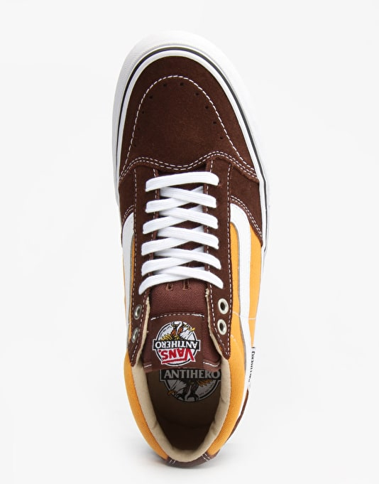 Vans x  Anti Hero TNT SG Pro Skate Shoes - Brown/Trujillo