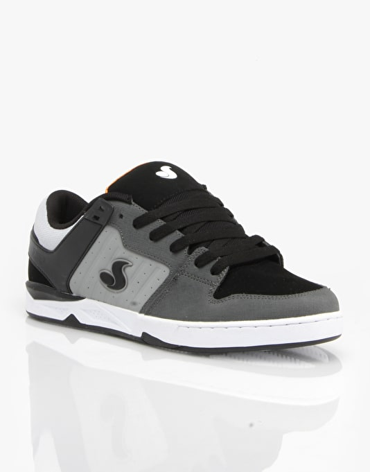 DVS Argon Skate Shoes - Black/Grey/Dirt Gunny Nubuck