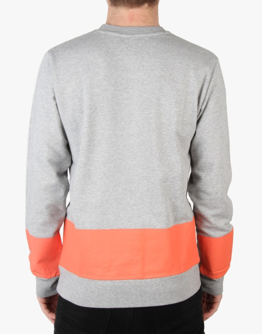 Carhartt Porter Sweatshirt - Grey Heather/Florida