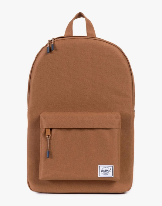 Herschel Supply Co. Classic Mid Volume Backpack - Caramel