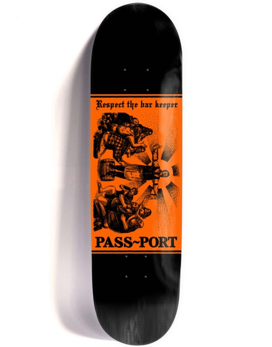 Pass Port Mixed Messages - Respect Team Deck - 8.5""