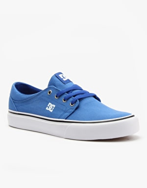 DC Trase TX Skate Shoes - Royal