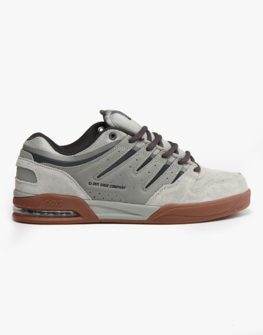 DVS Tycho Skate Shoes - Grey Suede