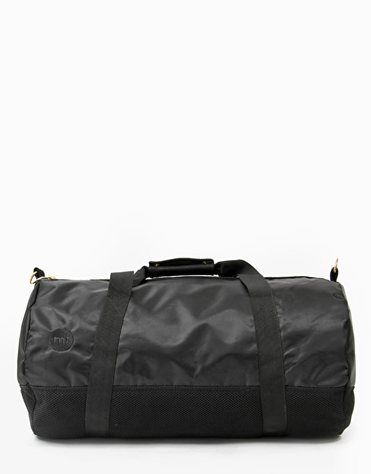 Mi-Pac Satin Mesh Duffel Bag - Black