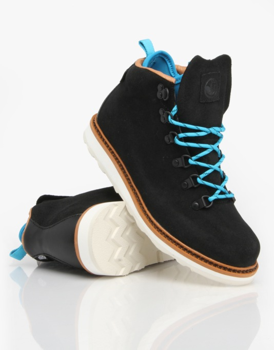DVS Yodeler Boots - Black Wax Suede