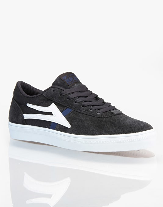 Lakai Vincent Skate Shoes - Phantom Suede