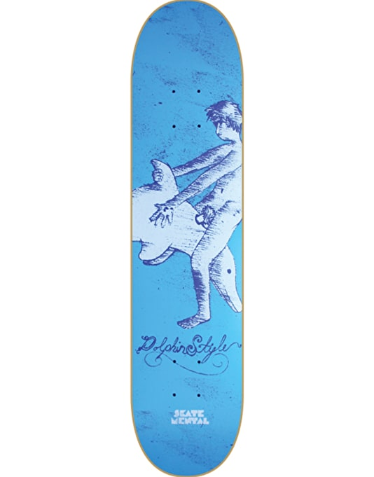 Skate Mental Dolphin Style Team Deck - 8""