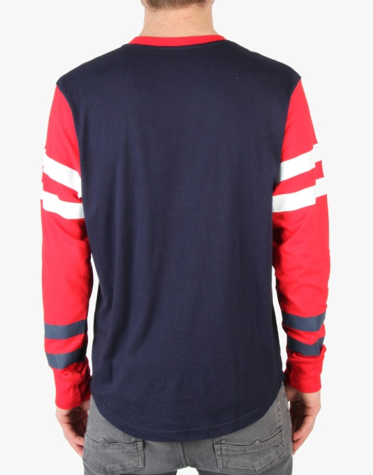 Staple Overboard L/S T-Shirt - Navy