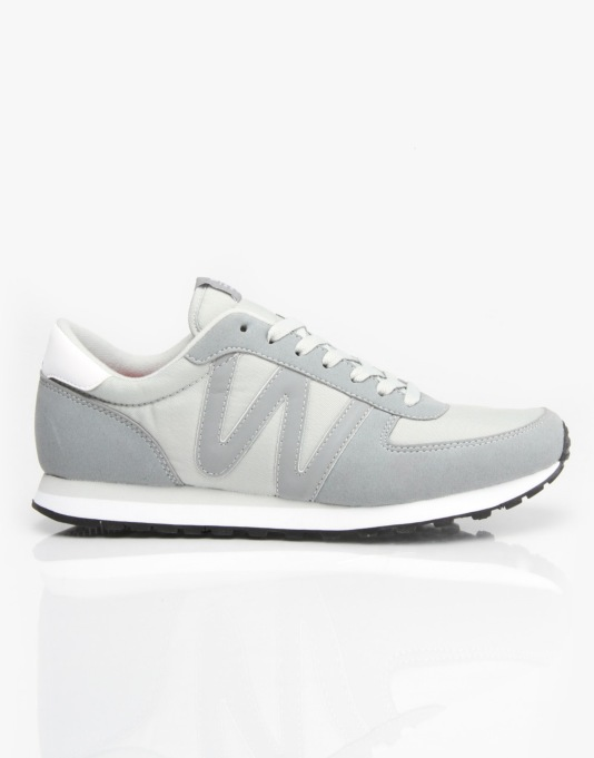 WESC Post Racer Low Shoes - Pale Grey