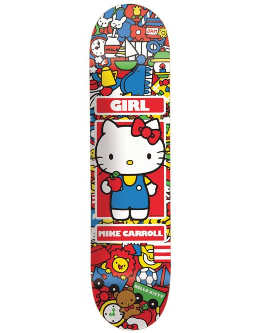 Girl x Hello Kitty Carroll Hella Kitty R1 UK Exclusive Pro Deck - 8""