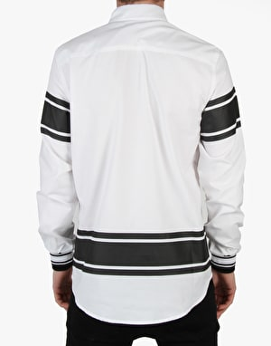 Crooks & Castles Ravager LS Woven Shirt - White