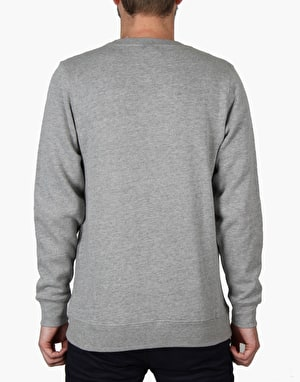 Stüssy Stock Crew - Grey Heather