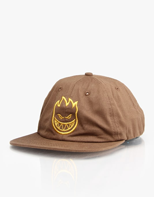 Spitfire Bighead 6 Panel Cap - Brown