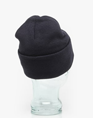 Hype Script Beanie - Navy/Orange