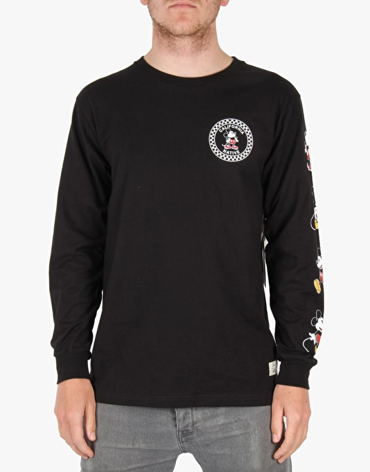 Vans x Disney LS T-Shirt - Black
