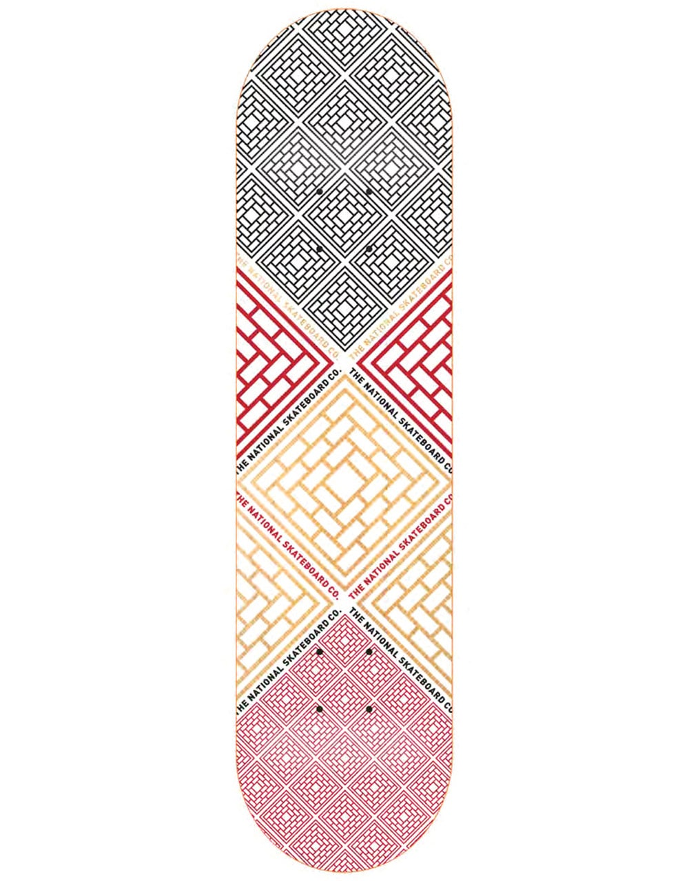 f49edfcf641f The National Skateboard Co. Labyrinth A Skateboard Deck - 8.38