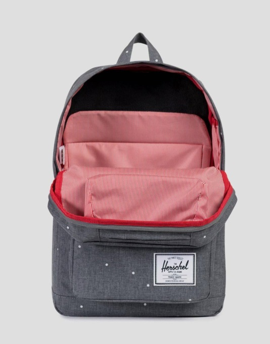 Herschel Supply Co. Pop Quiz Backpack - Scattered Charcoal/Rubber