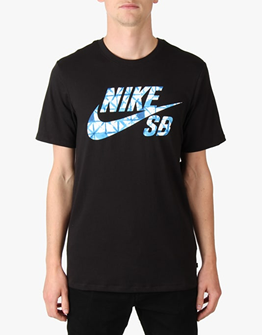 Nike SB Dri-Fit Print Fill T-Shirt - Black/Black