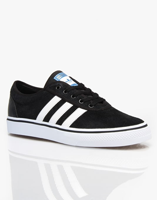 Adidas Adi Ease Pro Skate Shoes - Black/White/Bluebird