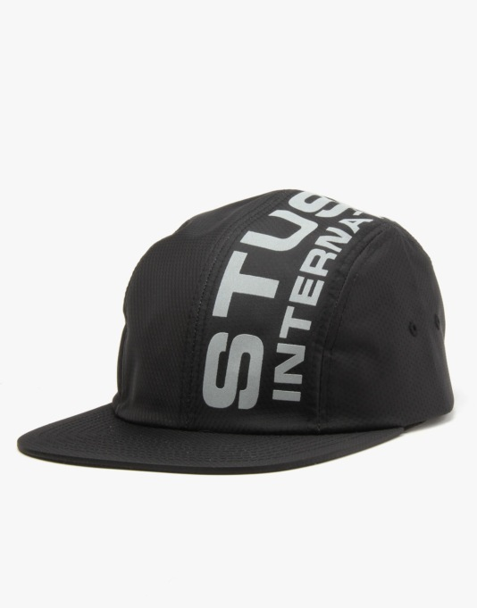 Stüssy Reflective Camp 5 Panel Cap - Black  7c57909d231