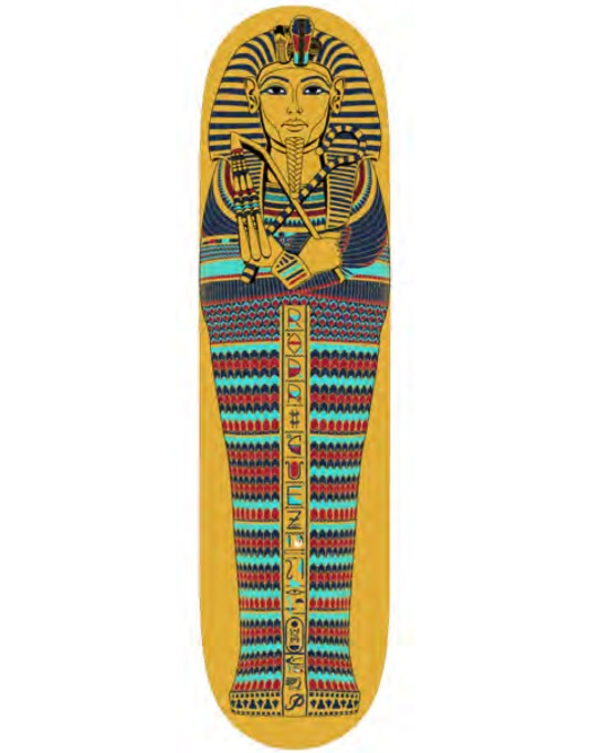 Primitive Skateboarding P-Rod Pharaoh Pro Deck - 8""