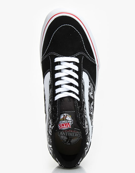 Vans x Anti Hero TNT SG Skate Shoes - Black/Trujllo