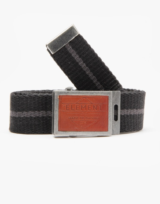 Element Accent Web Belt - Black