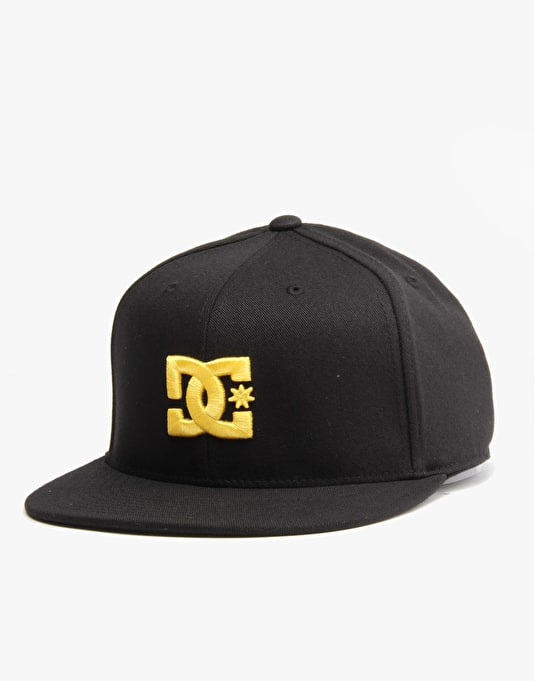 DC Take That Flexfit Cap - Black/Yellow