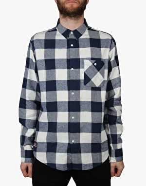 Fourstar Ishod Buffalo L/S Shirt - Navy