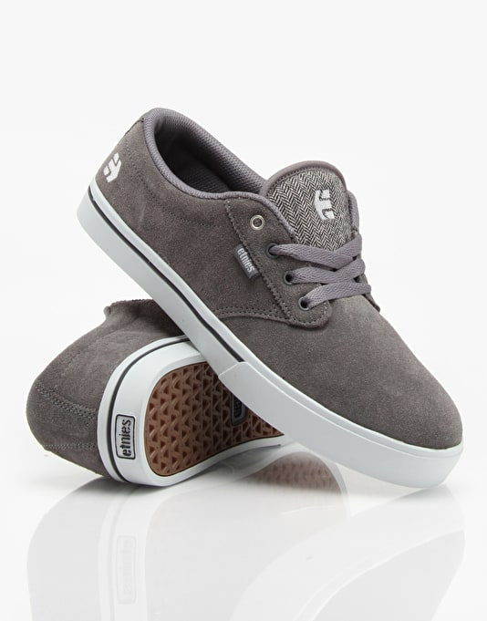 Etnies Jameson 2 Skate Shoes - Grey/Grey
