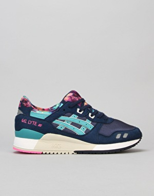 Asics Gel-Lyte III Shoes - Navy/Latigo Bay