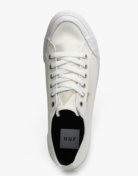HUF Classic Lo Skate Shoes - Natural Canvas