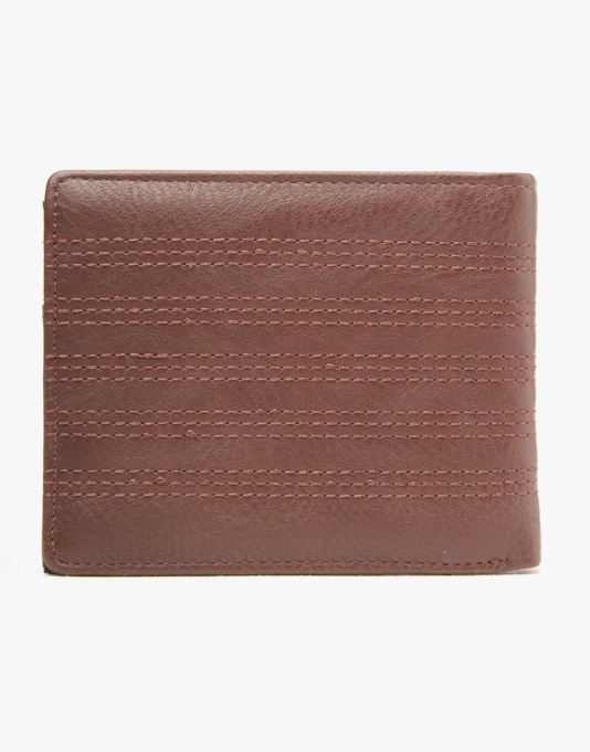 Globe Keelhaul Wallet - Brown