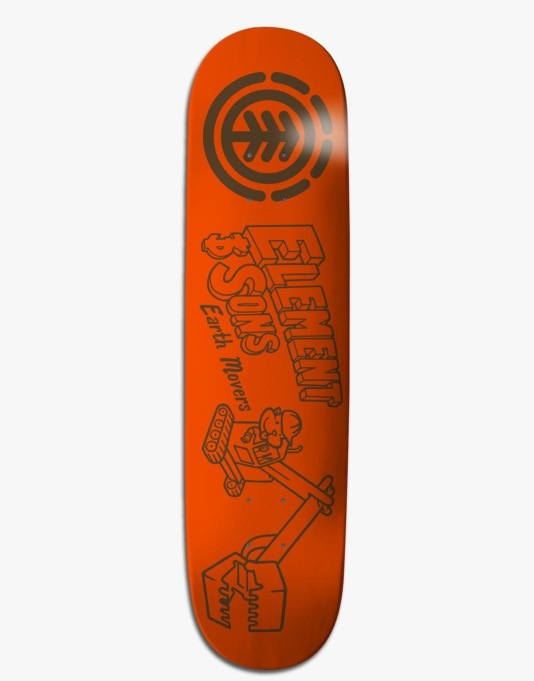 Element Family Business Earth Featherlight Pro Deck - 8""