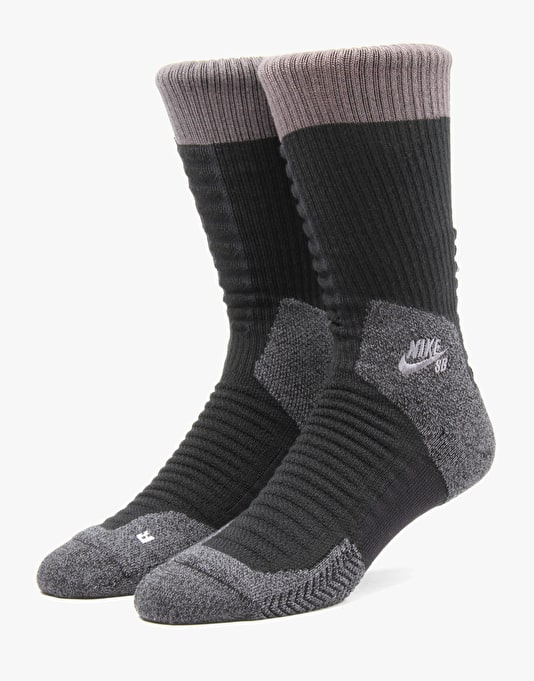 Nike SB Elite Skate 2.0 Crew Socks - Black/Anthracite