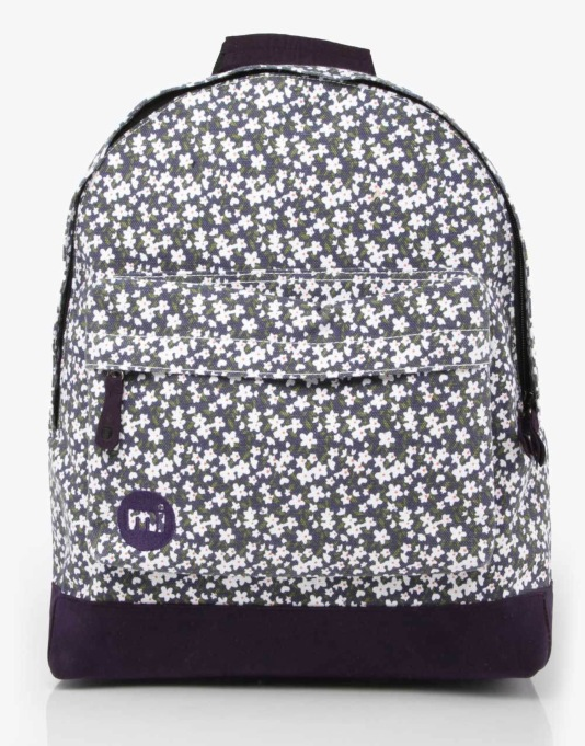 Mi-Pac Ditsy Floral Backpack - Navy
