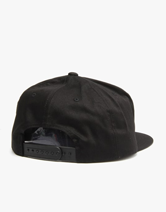 The Hundreds Patch Adam Snapback Cap - Black