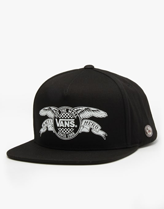 Vans x Anti-Hero Snapback Cap - Black