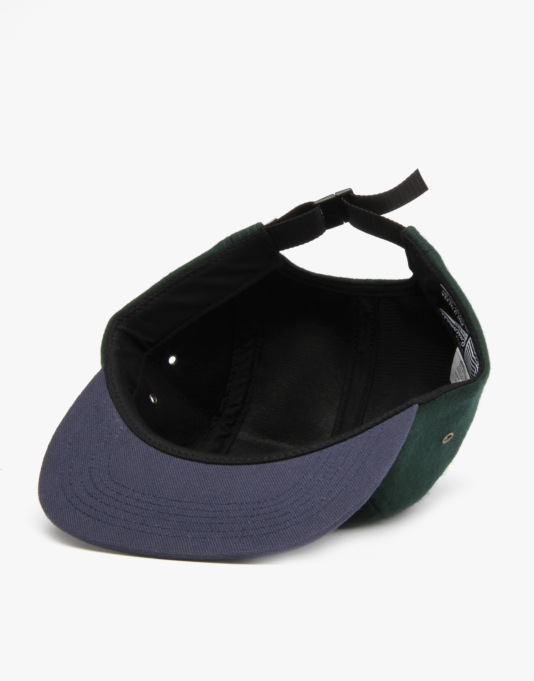HUF Script Volley 5 Panel Cap - Hunter