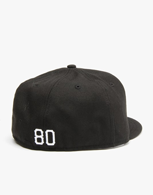 The Hundreds x New Era Pits Fitted Cap - Black