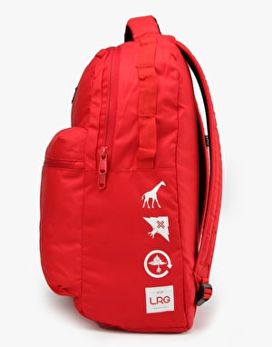 LRG Core Collection One Backpack - Hyper Red