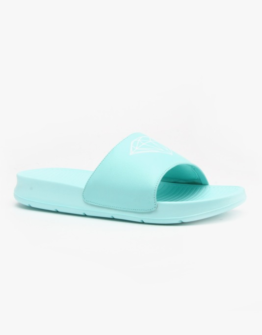 Diamond Fairfax Sliders Sandals - Diamond Blue