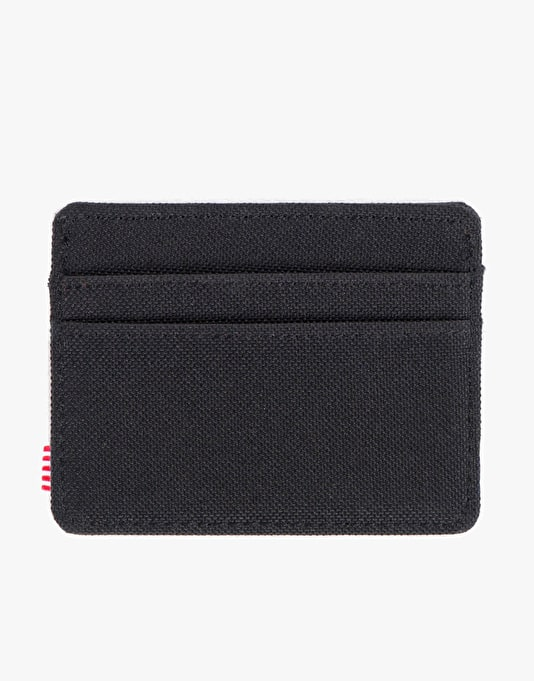 Herschel Supply Co. Charlie Card Holder - Black