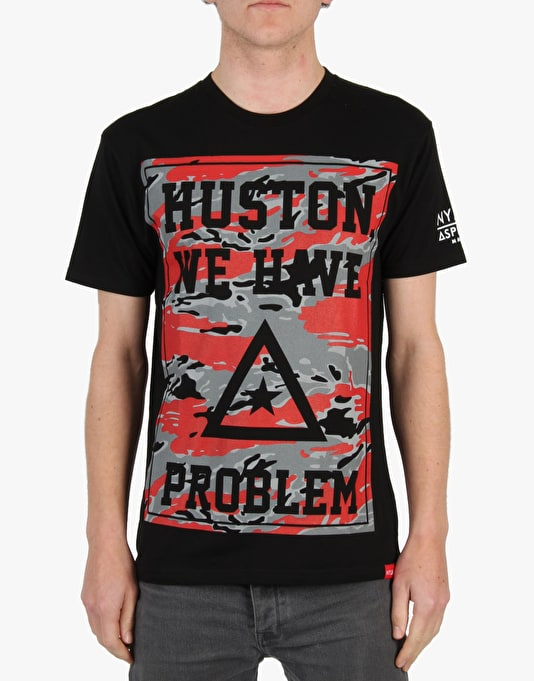 Asphalt Yacht Club R1 Excl Huston Problems T-Shirt - Black