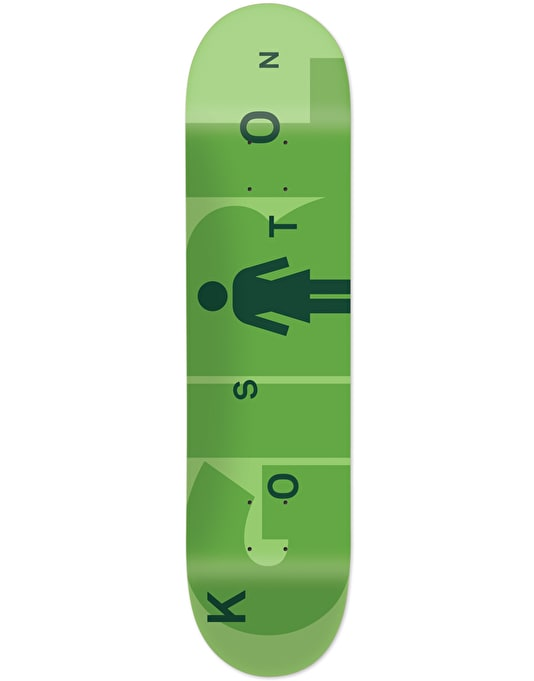Girl Koston Advertype Pro Deck - 8.25""