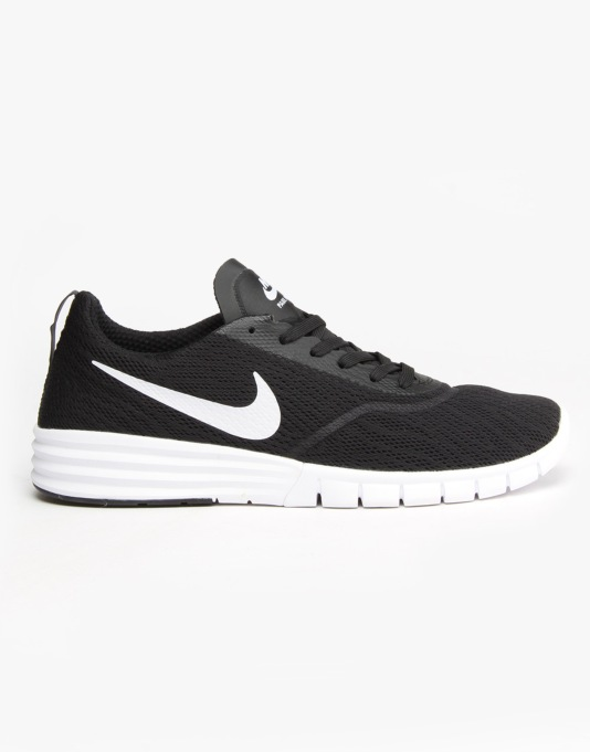Nike SB Paul Rodriguez 9 R/R Skate Shoes - Black/White-Black