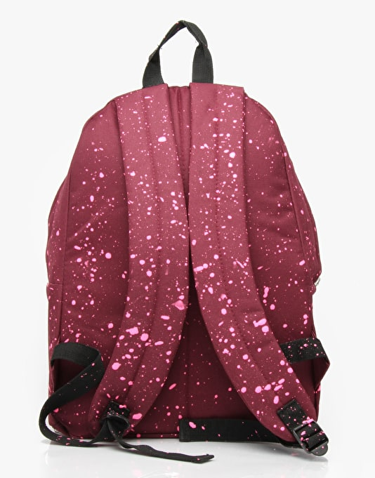 Hype Speckle Backpack - Burgundy/Pink