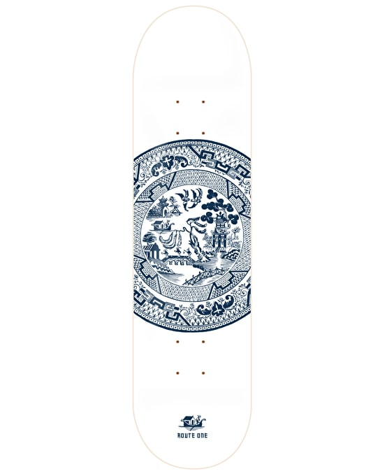 Route One Willow Skateboard Deck - 8.25""
