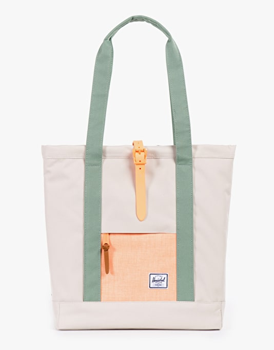 Herschel Supply Co. Market Tote Bag - Natural/Washed Mango/Foliage